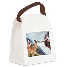 Creation of the Llama Canvas Lunch Bag