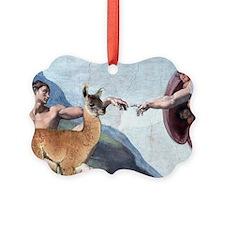 Creation of the Llama Ornament
