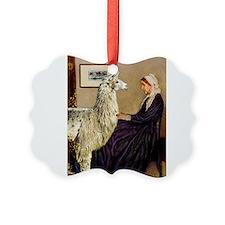 Mom's Llama Ornament