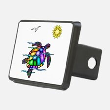 Sea Turtle 1 - with waves.png Hitch Cover