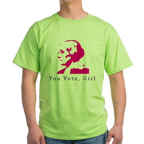 Susan B Anthony You Vote,Girl T-Shirt