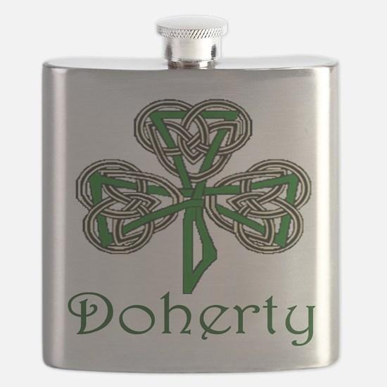 Doherty Shamrock Flask