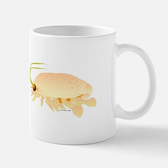 Mole Shrimp Sand Crab Sand Flea Mug
