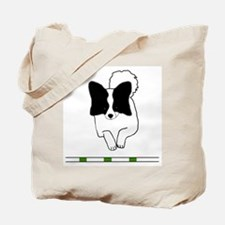 Black Papillon Tote Bag