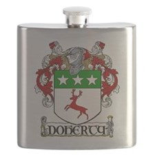 Doherty Coat of Arms Flask