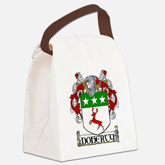 Doherty Coat of Arms Canvas Lunch Bag