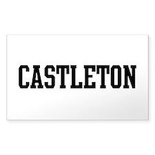 CASTLETON Decal