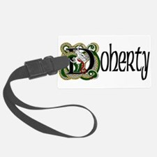Doherty Celtic Dragon Luggage Tag