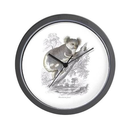 Koala Bear Wall Clock