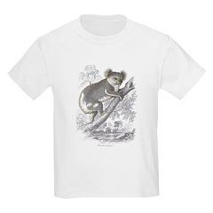 Koala Bear (Front) Kids T-Shirt
