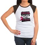 Tough Girls Myeloma Women's Cap Sleeve T-Shirt
