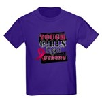 Tough Girls Myeloma Kids Dark T-Shirt