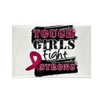 Tough Girls Myeloma Rectangle Magnet