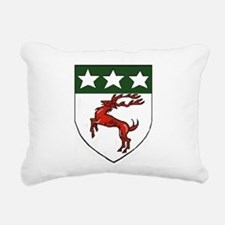 Doherty Crest Rectangular Canvas Pillow