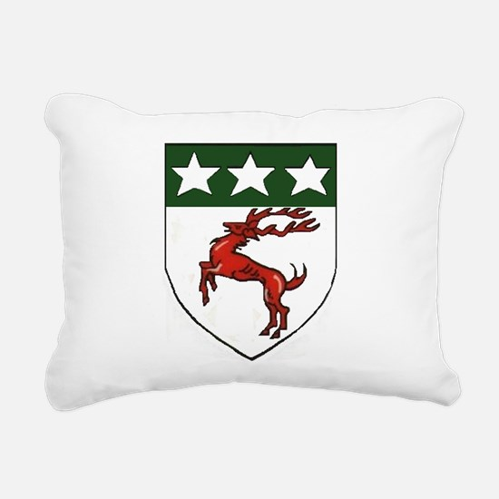 Doherty Crest Rectangular Canvas Pillow