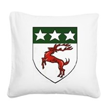 Doherty Crest Square Canvas Pillow
