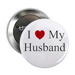 I (heart) My Husband Button