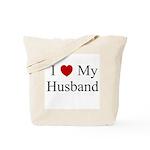 I (heart) My Husband Tote Bag