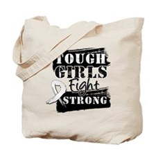 Tough Girls Lung Cancer Tote Bag