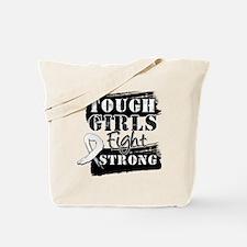 Tough Girls Lung Cancer Tote Bag