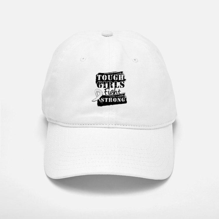 Tough Girls Lung Cancer Baseball Baseball Cap