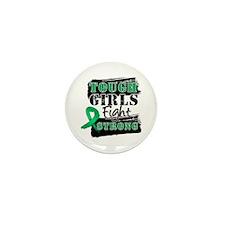 Tough Girls Liver Cancer Mini Button (10 pack)