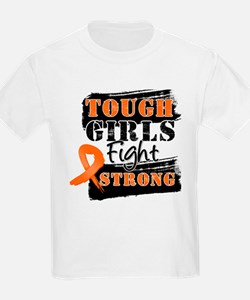 Tough Girls Leukemia T-Shirt