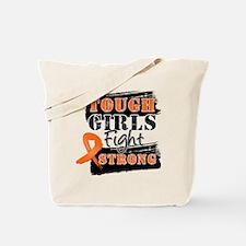 Tough Girls Leukemia Tote Bag