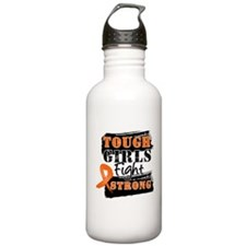 Tough Girls Leukemia Water Bottle