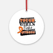 Tough Girls Kidney Cancer Ornament (Round)