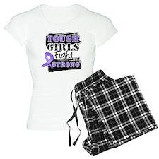 Tough Girls Hodgkin Disease pajamas