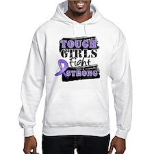 Tough Girls Hodgkin Disease Hoodie