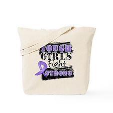 Tough Girls Hodgkin Disease Tote Bag