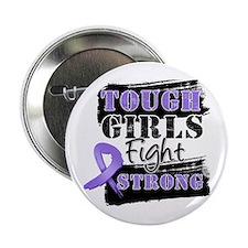 """Tough Girls Hodgkin Disease 2.25"""" Button"""