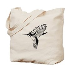 Hummingbird Live Fast Tote Bag