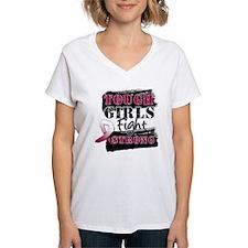 Tough Girls Head Neck Cancer Shirt