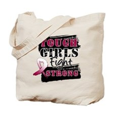 Tough Girls Head Neck Cancer Tote Bag