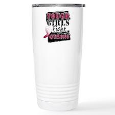 Tough Girls Head Neck Cancer Travel Mug