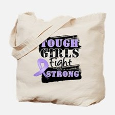 Tough Girls Fight Strong Cancer Tote Bag