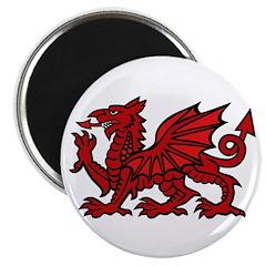 Red Welsh Dragon Magnet