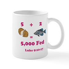 Cute Dinosaur ate jesus fish Mug