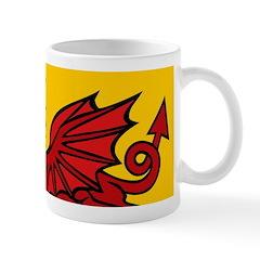 Red Welsh Dragon Mug