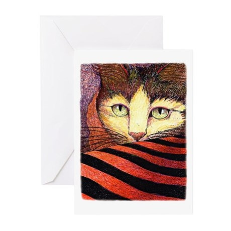 Heavenly Cat Greeting Cards (Pk of 10)