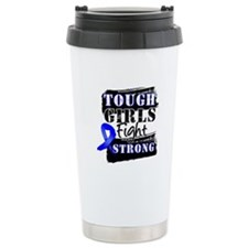 Tough Girls Colon Cancer Thermos Mug