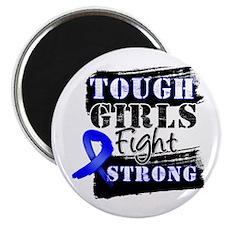 Tough Girls Colon Cancer Magnet