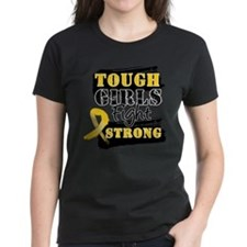 Tough Girls Childhood Cancer Tee