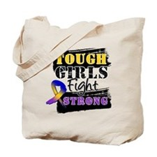 Tough Girls Bladder Cancer Tote Bag