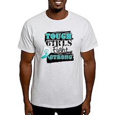 Tough Girls Cervical Cancer T-Shirt