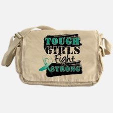 Tough Girls Cervical Cancer Messenger Bag