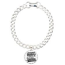 Tough Girls Carcinoid Cancer Bracelet